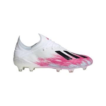 adidas X 19.1 FG blanc rose