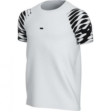 Maillot entraînement junior Nike Strike blanc noir