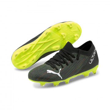 Puma Ultra junior 3.2 FG/AG noir jaune