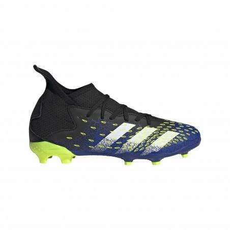 adidas Predator Freak.3 junior montante FG bleu jaune
