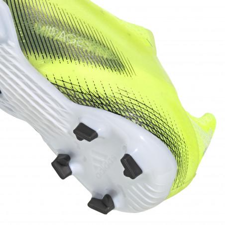 adidas X GHOSTED+ junior FG jaune