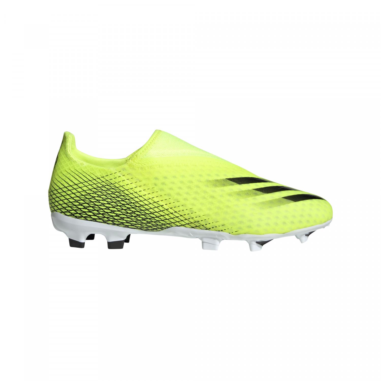 adidas X GHOSTED.3 LaceLess FG jaune