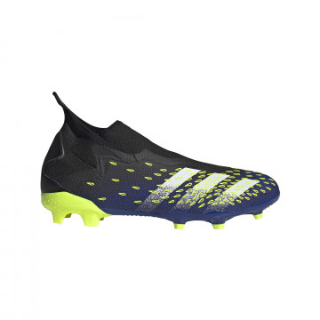 adidas Predator Freak.3 LaceLess montante FG bleu jaune