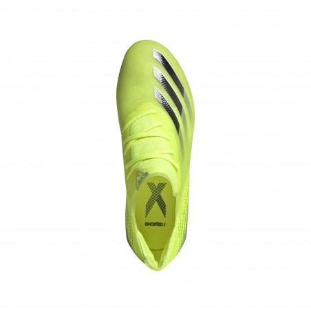 adidas X GHOSTED.1 junior FG jaune