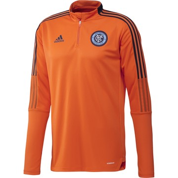 Sweat zippé New York City FC orange 2020/21