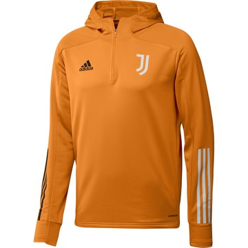 Sweat zippé à capuche Juventus orange 2020/21