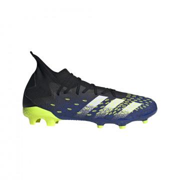 adidas Predator Freak .3 FG montante bleu jaune