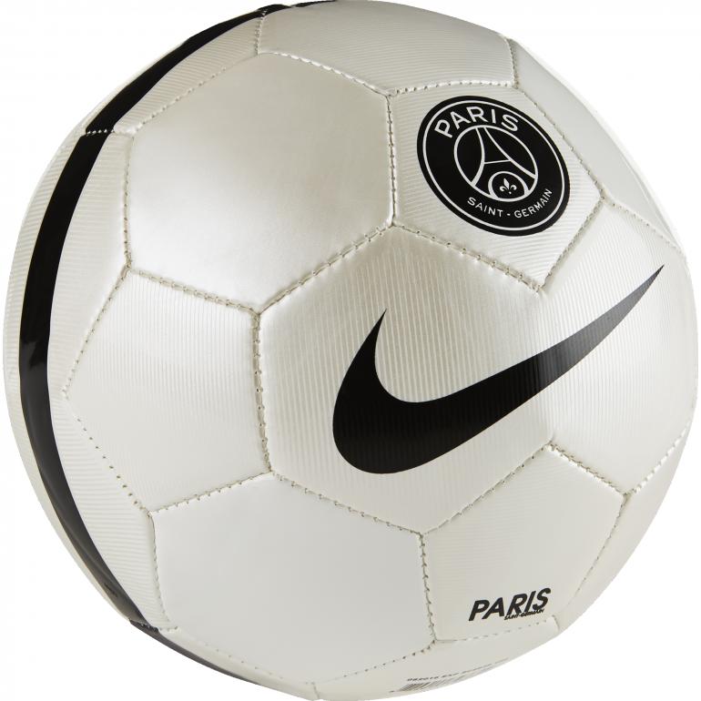 Mini ballon PSG blanc