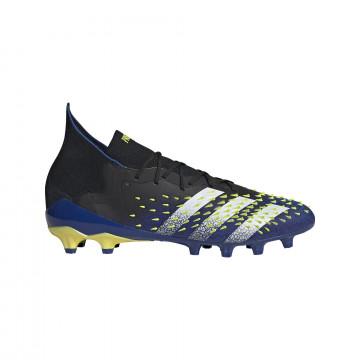 adidas Predator Freak .1 AG montante bleu jaune