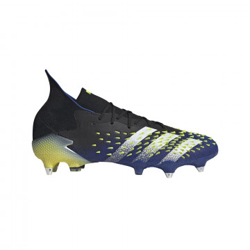 adidas Predator Freak .1 SG montante bleu jaune