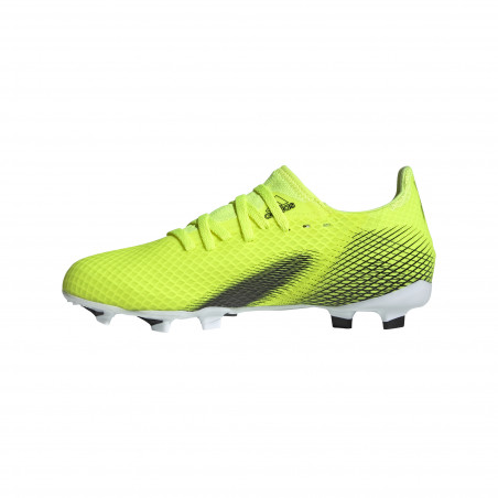 adidas X GHOSTED.3 junior FG jaune