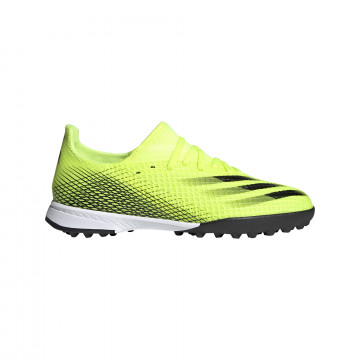 adidas X GHOSTED.3 junior Turf jaune