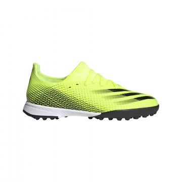 adidas X GHOSTED.3 junior Turf jaune