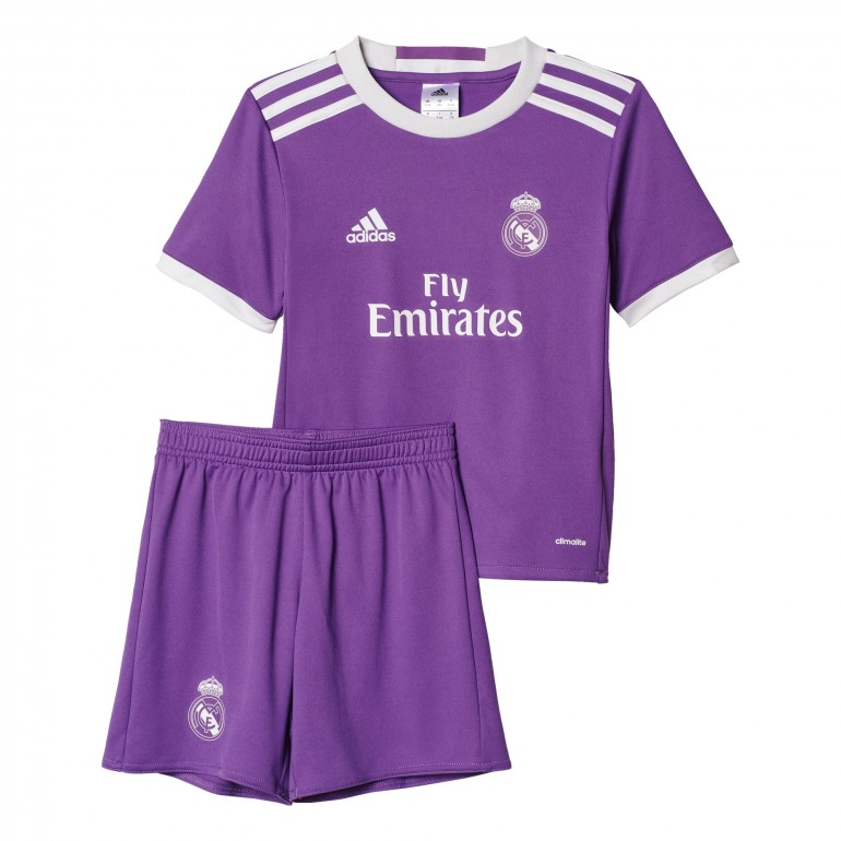 Ensemble enfant Real Madrid domicile 2016 - 2017