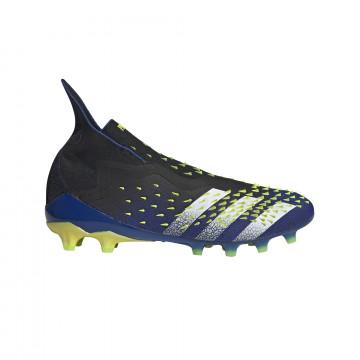 adidas Predator Freak + AG montante bleu jaune