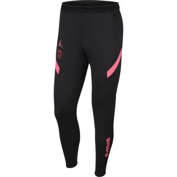 Pantalon survêtement PSG Jordan noir rose 2020/21