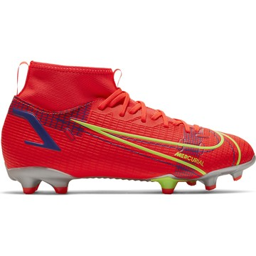 Nike Mercurial Superfly 8 junior Academy FG/MG rouge