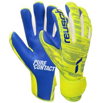 Gants gardien Reusch Pure Contact Silver jaune bleu