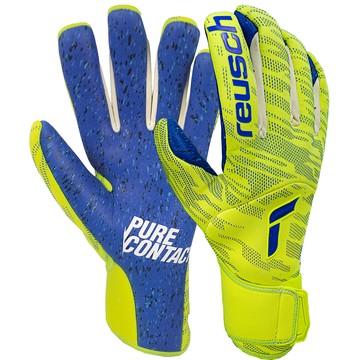 Gants gardien Reusch Pure Contact Fusion jaune bleu