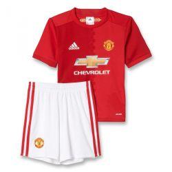 Ensemble enfant Manchester United domicile rouge 2016 - 2017