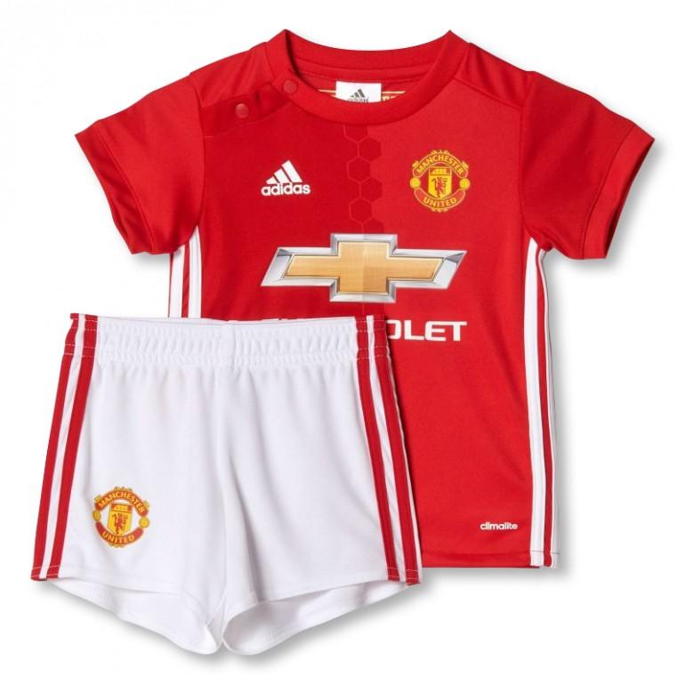 Tenue bébé Manchester United Domicile 2016 - 2017