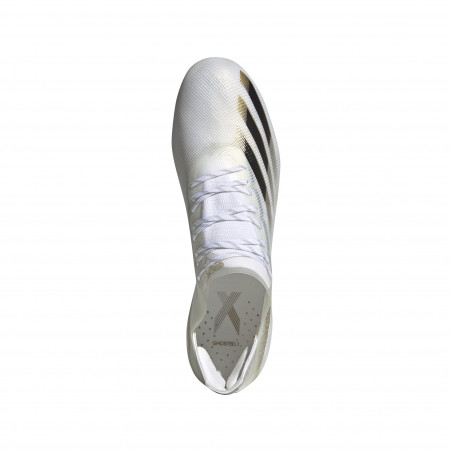 adidas X GHOSTED.1 AG blanc or