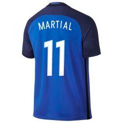Maillot Martial Equipe de France FFF domicile Bleu 2016