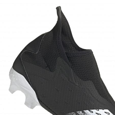 adidas Predator Freak.3 LaceLess montante FG noir gris