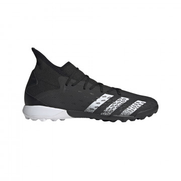 adidas Predator Freak.3 Turf montante noir gris