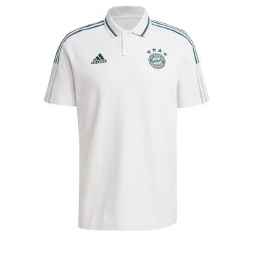 Polo Bayern Munich blanc vert 2020/21