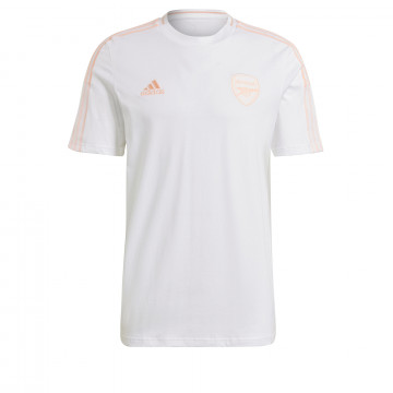 T-shirt Arsenal blanc rose 2020/21