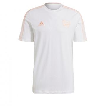 T-shirt Arsenal blanc rose 2020/21