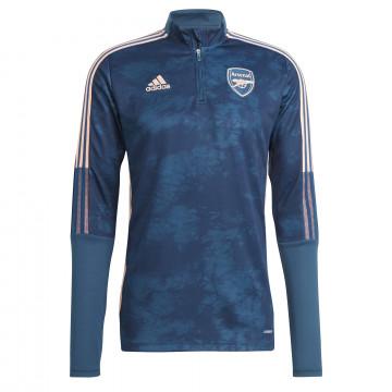 Sweat zippé Arsenal AOP bleu rose 2020/21
