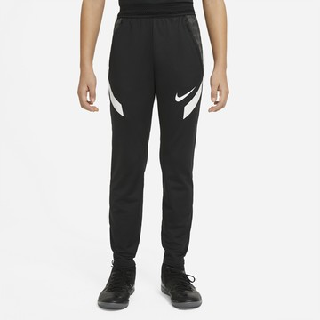 Pantalon survêtement junior Nike Strike noir blanc