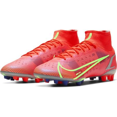 Nike Mercurial Superfly 8 Elite AG rouge