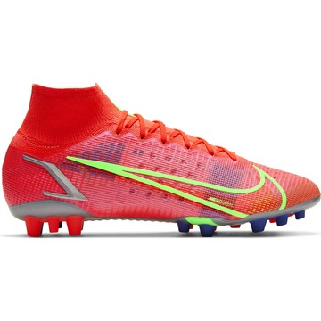 Nike Mercurial Superfly 8 Elite AG rouge