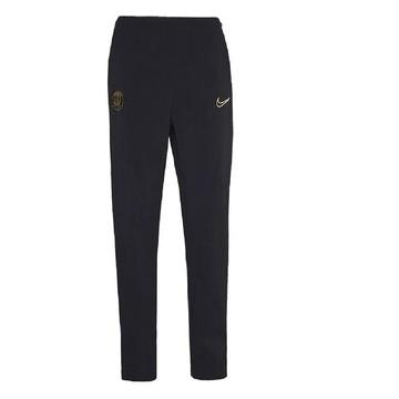 Pantalon survêtement Femme PSG noir or 2020/21