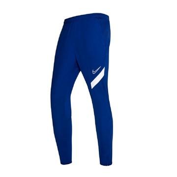 Pantalon survêtement Femme Nike Academy bleu blanc
