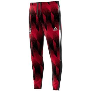 Pantalon survêtement Bayern Munich AOP rouge noir 2020/21