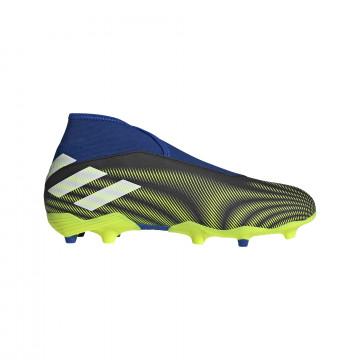adidas Nemeziz.3 LaceLess FG bleu jaune