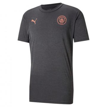 T-shirt Manchester City gris cuivre 2020/21