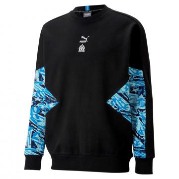 Sweat OM TFS noir bleu 2020/21
