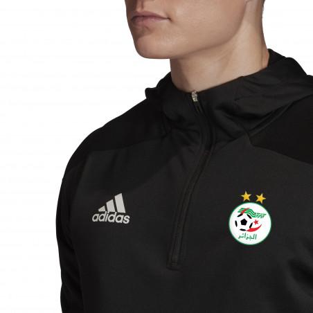 Sweat zippé à capuche Algérie noir 2020