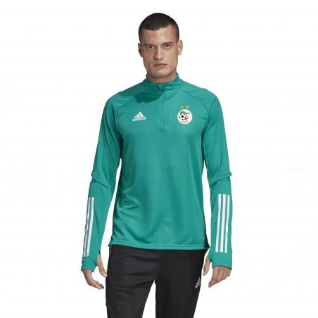 Sweat zippé Algérie vert 2020