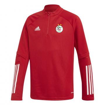 Sweat zippé junior Algérie rouge 2020