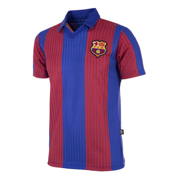 Maillot Copa FC Barcelone 1990 - 91 Rétro