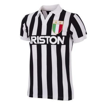 Maillot Copa Juventus domicile 1984 - 85 Rétro