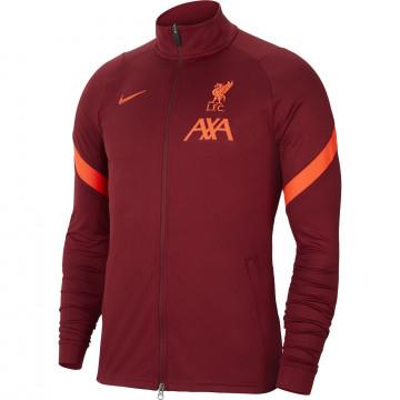 Veste survêtement Liverpool rouge 2021/22