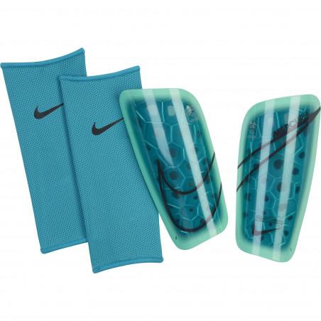 Protège tibias Nike Mercurial Lite bleu
