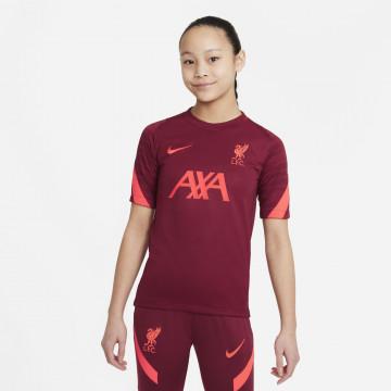 Maillot entraînement junior Liverpool rouge 2021/22